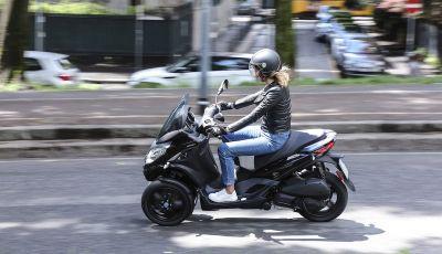 Piaggio MP3 300 hpe: il tre ruote più famoso al mondo ancora più agile e sportivo