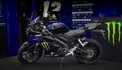 Yamaha  YZF-R125 Monster Energy Yamaha MotoGP Edition: piccola ma con DNA sportivo