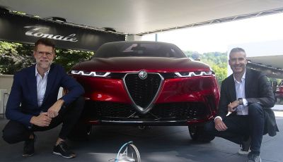 Alfa Romeo Tonale eletta migliore Concept car al Car Design Award 2019