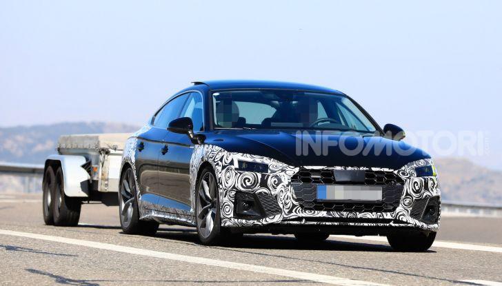 Audi A5 Sportback 2020, primi dati e immagini - Foto 6 di 18