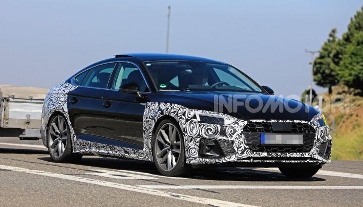Audi A5 Sportback 2020, primi dati e immagini - Foto 8 di 18