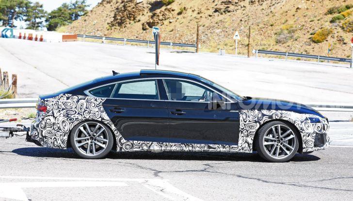Audi A5 Sportback 2020, primi dati e immagini - Foto 11 di 18