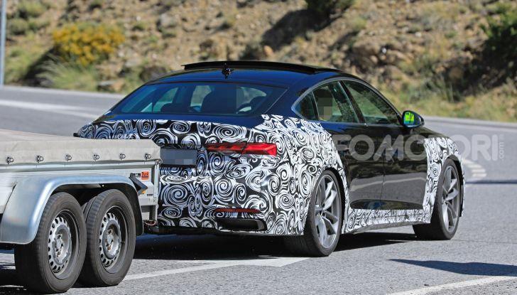 Audi A5 Sportback 2020, primi dati e immagini - Foto 4 di 18