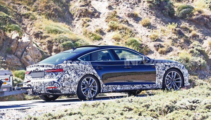 Audi A5 Sportback 2020, primi dati e immagini - Foto 13 di 18