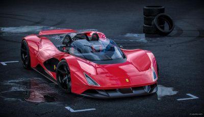 Ferrari Aliante Barchetta, pura e bellissima con un 12 cilindri aspirato
