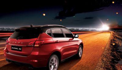 Haval H2, il nuovo SUV compatto bifuel del marchio di Great Wall