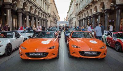 Mazda CX-30 e MX-5 protagoniste al Parco Valentino 2019