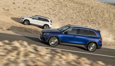 Nuova Mercedes GLB: spirito offroad, ma con tanta eleganza