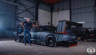 Nissan GT-R da 2.000 CV per le gare in salita