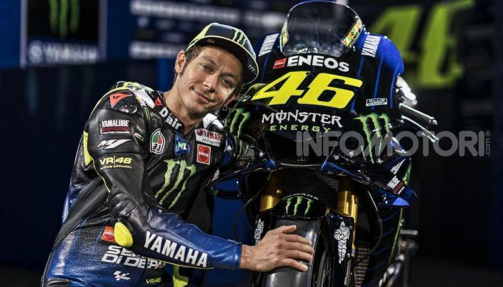 MotoGP: Valentino Rossi correrà ufficialmente in Yamaha-Petronas nel 2021 - Foto 8 di 10