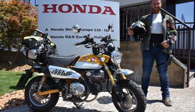 Da Reggio Calabria a Capo Nord con una Honda Monkey 125