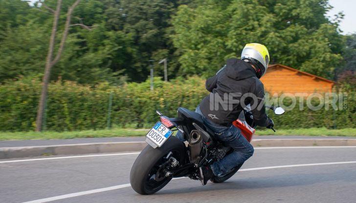 """Prova KTM Duke 790, il """"parcogiochi"""" sotto quota 10 mila (euro)  - Foto 45 di 54"""