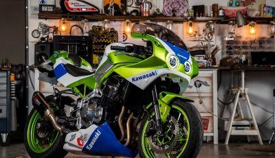 Arriva il kit che trasforma una Kawasaki Z900 RS in una ZXR 750