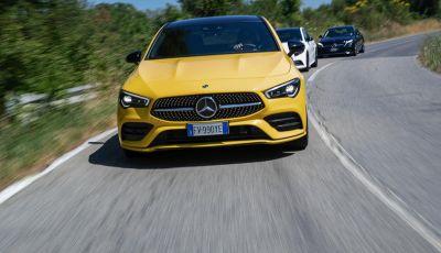 Mercedes-Benz, la prova delle berline compatte 2019