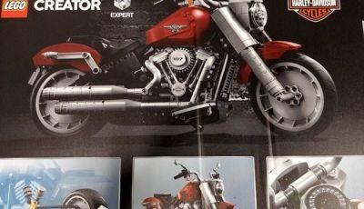 Harley Davidson Fat Boy, arriva la versione Lego