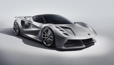 Lotus Evija: l'hypercar elettrica da 1000 euro a cavallo
