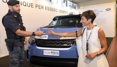30 Land Rover Discovery consegnate alla Polizia di Stato