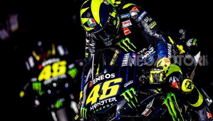MotoGP: Valentino Rossi correrà ufficialmente in Yamaha-Petronas nel 2021 - Foto 1 di 10