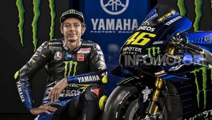 MotoGP: Valentino Rossi correrà ufficialmente in Yamaha-Petronas nel 2021 - Foto 7 di 10