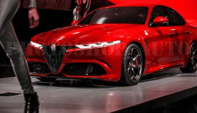 Alfa Romeo Giulia Restyling, la berlina potrebbe mutare verso SZ e Tonale