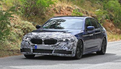 BMW Serie 5 2020 facelift: cambiano l'estetica e la tecnologia