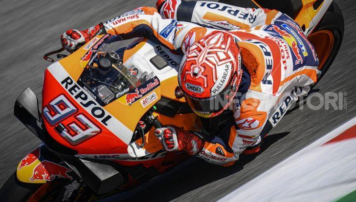 MotoGP 2019, GP di Aragon: Marquez comanda le libere davanti alle Yamaha ufficiali - Foto 1 di 11