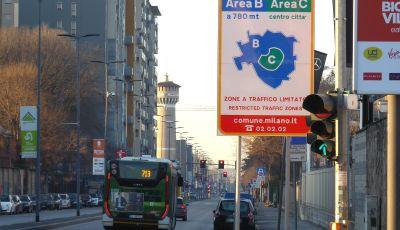 Milano: Area B e Area C nuovamente attive
