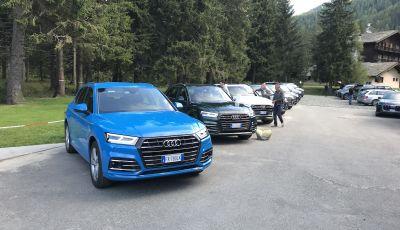 Audi Q5 Tfsi e quattro S tronic, il SUV ibrido sportivo che fa risparmiare