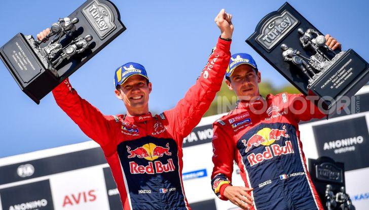 WRC Turchia 2019: Sebastien Ogier e Julien Ingrassia vincono il Rally di Turchia 2019 - Foto 4 di 4