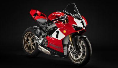 Una Ducati Panigale V4 25° Anniversario 916 all'asta a sostegno della Carlin Dunne Foundation