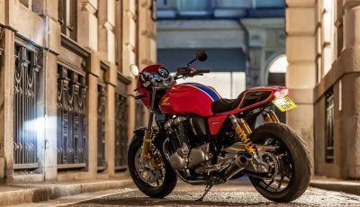 Honda CB1100RS 5Four: special nelle linee e nei numeri