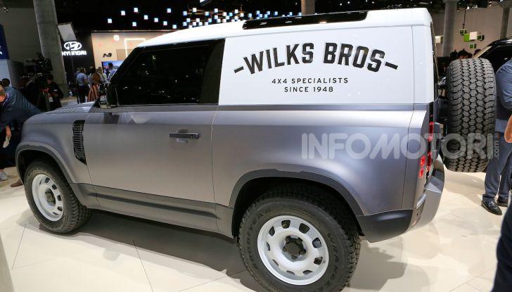 Land Rover Defender 2019, dati e informazioni - Foto 3 di 47