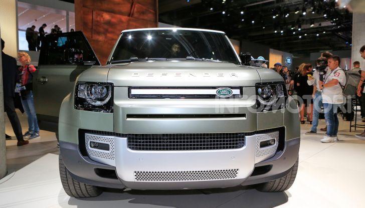 Land Rover Defender 2019, dati e informazioni - Foto 30 di 47