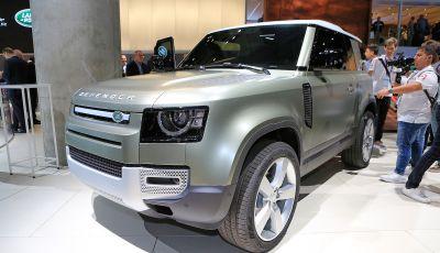 Land Rover Defender 2020, dati e informazioni