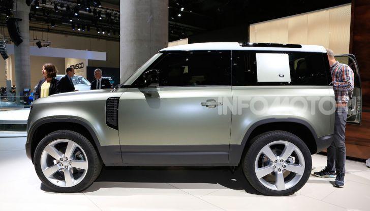 Land Rover Defender 2019, dati e informazioni - Foto 22 di 47