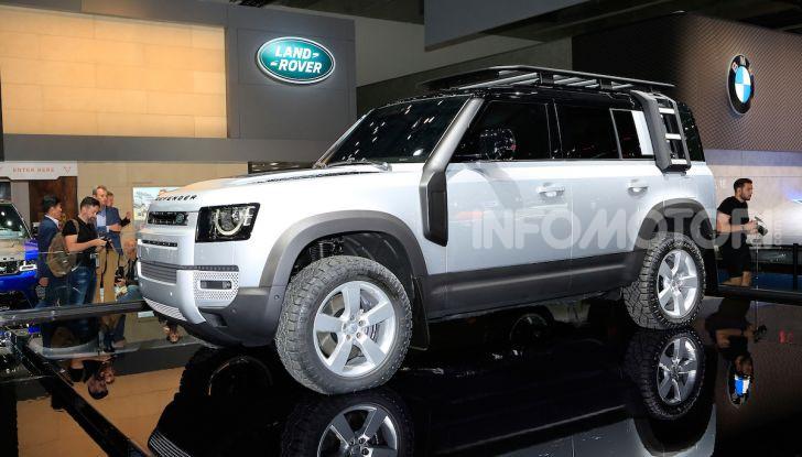Land Rover Defender 2019, dati e informazioni - Foto 9 di 47
