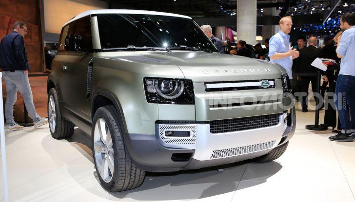 Land Rover Defender 2019, dati e informazioni - Foto 42 di 47
