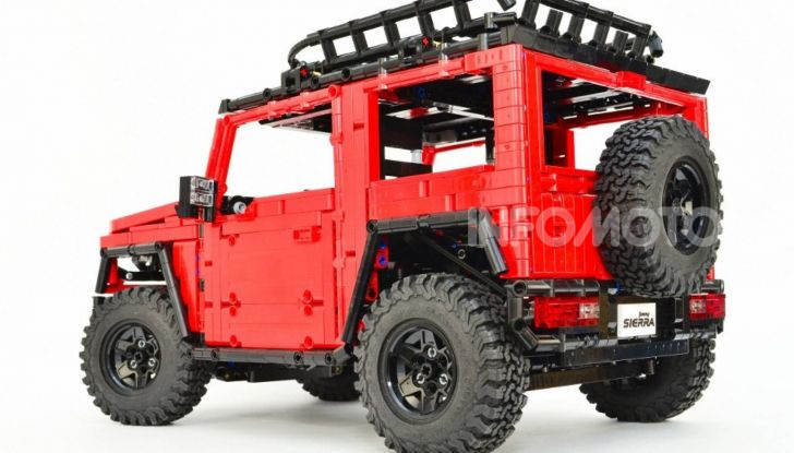 Lego Suzuki Jimny Sierra: il set costa meno di 100 euro - Foto 1 di 8