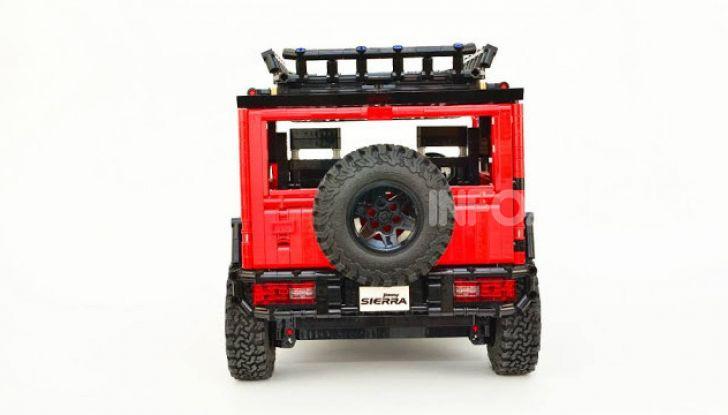 Lego Suzuki Jimny Sierra: il set costa meno di 100 euro - Foto 8 di 8