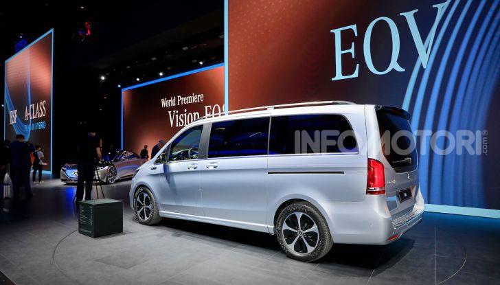 Mercedes Concept EQV: il primo monovolume premium 100% elettrico - Foto 2 di 16