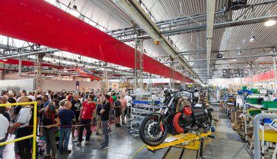 Un weekend nel nome dell'Aquila con i Moto Guzzi Open House