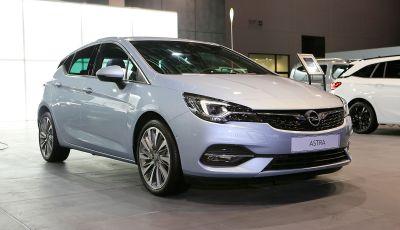 Opel Astra 2020: molto aerodinamica e tutta nuova
