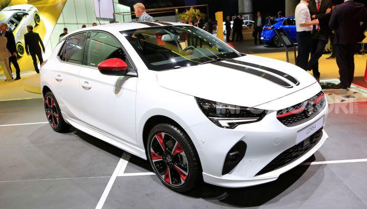 Opel Corsa 2019 live Francoforte