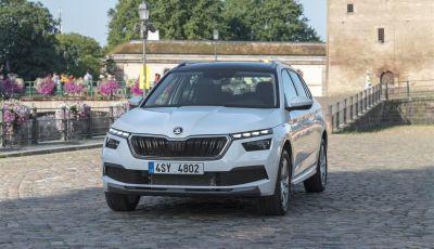 Prova su strada Skoda Kamiq: il terzo elemento della gamma SUV