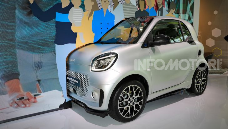 Smart 2020, solo elettrica: ancora più tecnologica ma senza emissioni - Foto 19 di 38