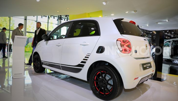 Smart 2020, solo elettrica: ancora più tecnologica ma senza emissioni - Foto 26 di 38