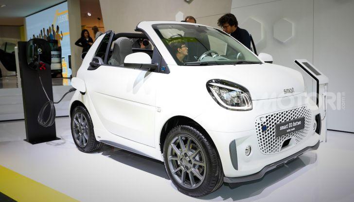 Smart 2020, solo elettrica: ancora più tecnologica ma senza emissioni - Foto 4 di 38