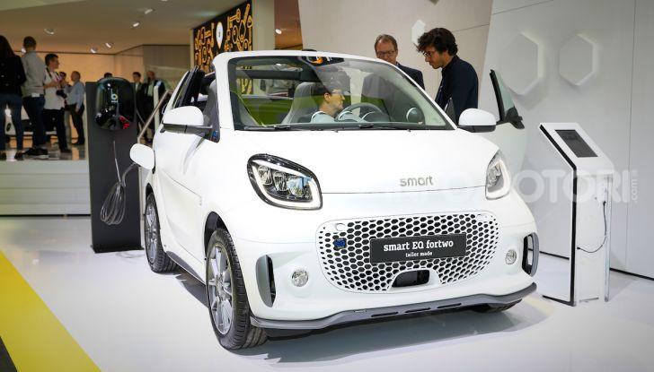 Smart 2020, solo elettrica: ancora più tecnologica ma senza emissioni - Foto 5 di 38