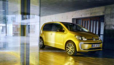 Volkswagen e-up: la piccola tedesca dalla grande autonomia