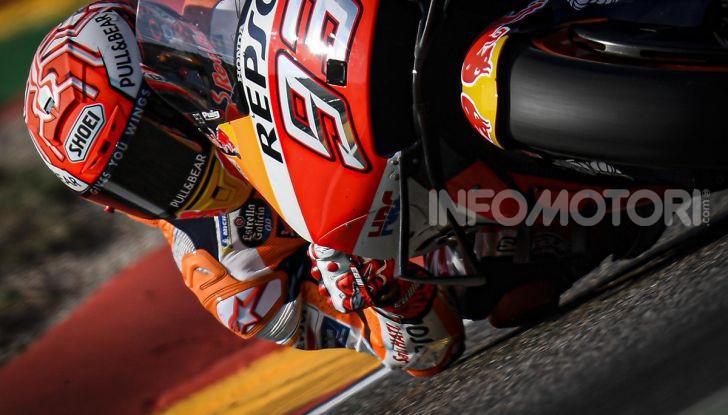 MotoGP 2019, GP di Aragon: Marquez comanda le libere davanti alle Yamaha ufficiali - Foto 2 di 11